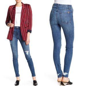 Hi Rise Skinny Jeans Joe's Jeans Charlie in Allura